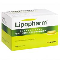 LIPOPHARM PFLANZLICHER CHOLESTERINSENKER, 200 ST, Abanta Pharma GmbH