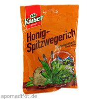 Kaiser Honig Spitzwegerich Bonbons, 90 G, Fr. Kaiser GmbH