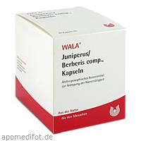 JUNIPERUS/BERBERIS COMP KAPSELN, 90 ST, Wala Heilmittel GmbH