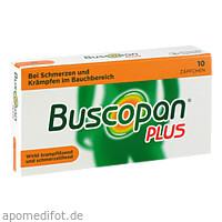 BUSCOPAN PLUS, 10 ST, Sanofi-Aventis Deutschland GmbH GB Selbstmedikation /Consumer-Care