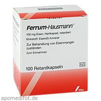 FERRUM HAUSMANN, 100 ST, Vifor Pharma Deutschland GmbH