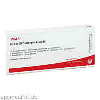 Hepar Gl Serienpackung III, 10X1 ML, Wala Heilmittel GmbH
