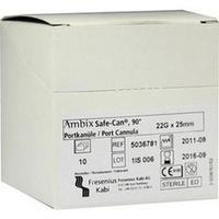 Ambix Safe-CAN Portpunktionskan. gebogen 22Gx25mm, 10 ST, Fresenius Kabi Deutschland GmbH