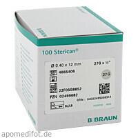 Sterican Ins.Einm.Kan. 27GX1/2 0.40X12mm, 100 ST, B. Braun Melsungen AG