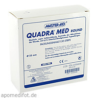 QUADRA MED round 22.5 mm Strips Master Aid, 150 ST, Trusetal Verbandstoffwerk GmbH