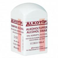 Alkoholtupfer Alkotip 44x44mm, 155 ST, Diaprax GmbH