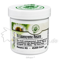 MELISSEN CREME EMPF HAUT, 100 G, Resana GmbH