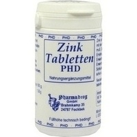 Zink Tabletten, 90 ST, Pharmadrog GmbH
