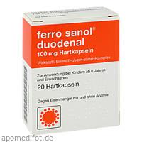 FERRO SANOL DUODENAL magens.res.Pellets in Kapseln, 20 ST, UCB Pharma GmbH
