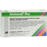 Aminorell Plus, 60 ST, Sanorell Pharma GmbH & Co. KG