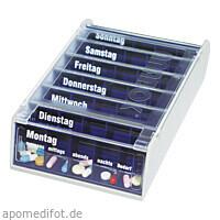 ANABOX 7 Tage Wochendosierer blau, 1 ST, Wepa Apothekenbedarf GmbH & Co. KG