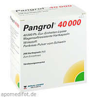 PANGROL 40000, 200 ST, Berlin-Chemie AG