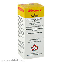 RUMISAL 3 Tropfen vet., 50 ML, Biokanol Pharma GmbH