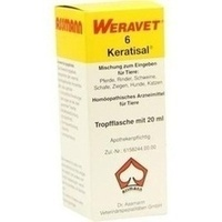 KERATISAL 6 Tropfen vet., 20 ML, Biokanol Pharma GmbH