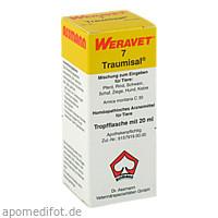 TRAUMISAL 7 Tropfen vet., 20 ML, Biokanol Pharma GmbH