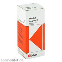 SYNERGON KOMPLEX 3b Rutinium Tropfen, 50 ML, Kattwiga Arzneimittel GmbH