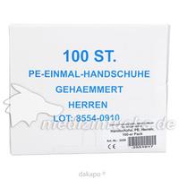 Handschuhe PE Herren, 100 ST, Careliv Produkte Ohg