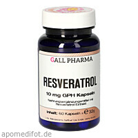 Resveratrol 10 mg GPH Kapseln, 60 ST, Hecht-Pharma GmbH