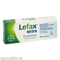 Lefax extra, 20 ST, Bayer Vital GmbH