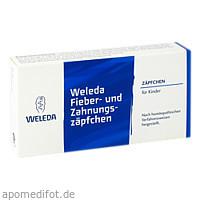 Fieber- und Zahnungszäpfchen, 10 ST, Weleda AG