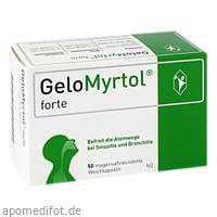 GELOMYRTOL forte magensaftresistente Weichkapseln, 50 ST, G. Pohl-Boskamp GmbH & Co.KG