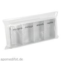 Tablettendose morgens/mittags/abend/nacht, 1 ST, Büttner-Frank GmbH