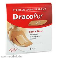 Dracopor Wundverband steril hautfarben ster 8x10cm, 5 ST, Dr. Ausbüttel & Co. GmbH