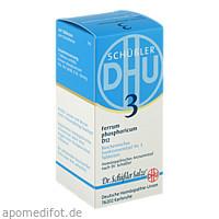 BIOCHEMIE DHU 3 FERRUM PHOSPHORICUM D12, 200 ST, Dhu-Arzneimittel GmbH & Co. KG