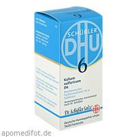 BIOCHEMIE DHU 6 KALIUM SULFURICUM D 6, 200 ST, Dhu-Arzneimittel GmbH & Co. KG