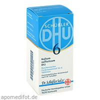 BIOCHEMIE DHU 6 KALIUM SULFURICUM D12, 200 ST, Dhu-Arzneimittel GmbH & Co. KG