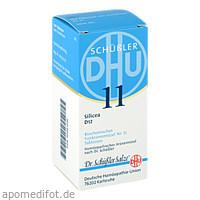 BIOCHEMIE DHU 11 SILICEA D12, 200 ST, Dhu-Arzneimittel GmbH & Co. KG