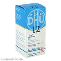 BIOCHEMIE DHU 12 CALCIUM SULFURICUM D 6, 200 ST, Dhu-Arzneimittel GmbH & Co. KG
