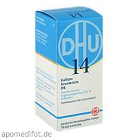 BIOCHEMIE DHU 14 KALIUM BROMATUM D 6, 200 ST, Dhu-Arzneimittel GmbH & Co. KG