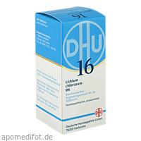 BIOCHEMIE DHU 16 LITHIUM CHLORATUM D 6, 200 ST, Dhu-Arzneimittel GmbH & Co. KG