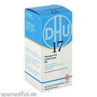 BIOCHEMIE DHU 17 MANGANUM SULFURICUM D 6, 200 ST, Dhu-Arzneimittel GmbH & Co. KG