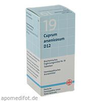 BIOCHEMIE DHU 19 CUPRUM ARSENICOSUM D12, 200 ST, Dhu-Arzneimittel GmbH & Co. KG