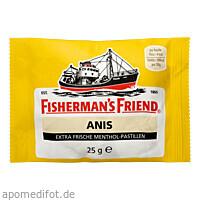 FISHERMANS FRIEND ANIS, 25 G, Queisser Pharma GmbH & Co. KG