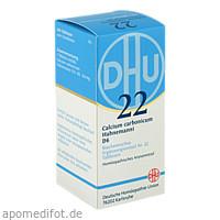 BIOCHEMIE DHU 22 CALCIUM CARBONICUM HAHNEMANNI D 6, 200 ST, Dhu-Arzneimittel GmbH & Co. KG