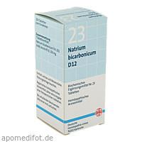 BIOCHEMIE DHU 23 NATRIUM BICARBONICUM D12, 200 ST, Dhu-Arzneimittel GmbH & Co. KG