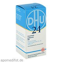 BIOCHEMIE DHU 24 ARSENUM JODATUM D 6, 200 ST, Dhu-Arzneimittel GmbH & Co. KG