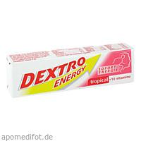 DEXTRO ENERGY Tropical + 10 Vitamine Stange, 1 ST, Kyberg Pharma Vertriebs GmbH