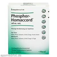 PHOSPHOR HOMACCORD ad us.vet.Ampullen, 5 ST, Biologische Heilmittel Heel GmbH