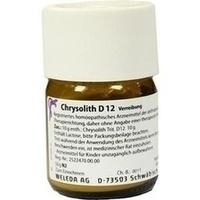 CHRYSOLITH D12, 50 G, Weleda AG