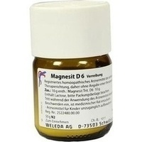 MAGNESIT D 6, 50 G, Weleda AG