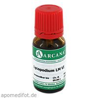 LYCOPODIUM ARCA LM 6, 10 ML, ARCANA Dr. Sewerin GmbH & Co. KG