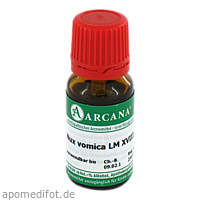 NUX VOMICA ARCA LM 18, 10 ML, ARCANA Dr. Sewerin GmbH & Co. KG