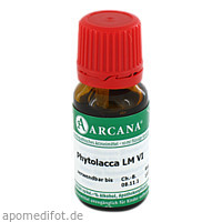 PHYTOLACCA ARCA LM 6, 10 ML, ARCANA Dr. Sewerin GmbH & Co. KG