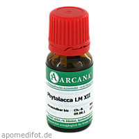 PHYTOLACCA ARCA LM 12, 10 ML, ARCANA Dr. Sewerin GmbH & Co. KG
