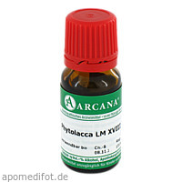 PHYTOLACCA ARCA LM 18, 10 ML, ARCANA Dr. Sewerin GmbH & Co. KG
