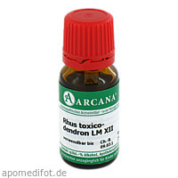 RHUS TOXICODENDRON LM 12, 10 ML, ARCANA Dr. Sewerin GmbH & Co. KG